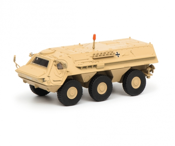 "Fuchs infantry transport vehicle ""ISAF"", 1:87"