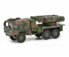 """MAN 7t gl KAT1 Raketenwerfer Lars II """"Bundeswehr"""", 1:87"""