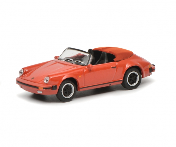 Porsche 911 Carrera 3.2 Speedster, rot, 1:87