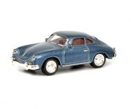 Porsche 356 Coupé, blue 1:87