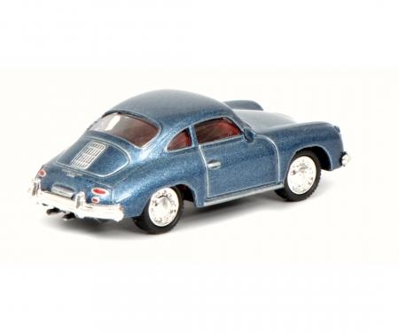Porsche 356 Coupé, blau 1:87