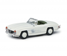 Mercedes-Benz 300SL Roadster, weiß, 1:87