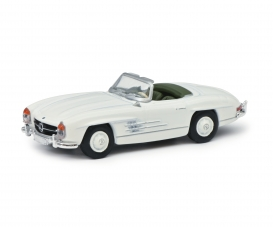 MB 300SL Roadster, white 1:87