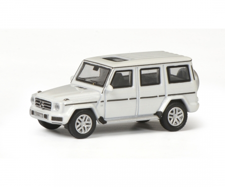 Mercedes-Benz G-Modell, diamond white, 1:87