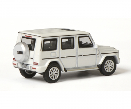 Mercedes-Benz G-Modell, diamantweiß, 1:87