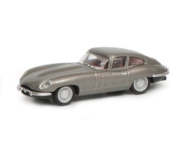 Jaguar E-Type Coupé, grey, 1:87