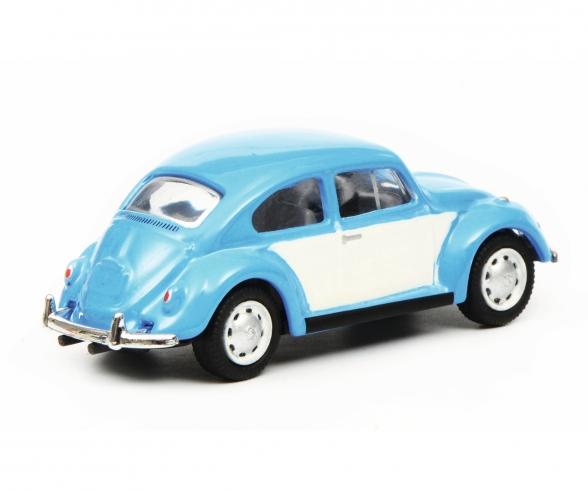 VW Kaefer, blue/white 1:87