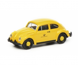 "VW Beetle ""Deutsche Bundespost"", yellow black, 1:87"