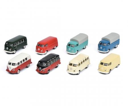VW T1, 8-er Set, 1:87