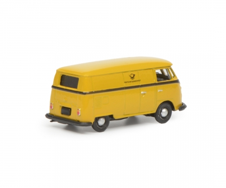 "VW T1c box van ""Deutsche Bundespost"", yellow black, 1:87"