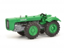 Dutra D4K ohne Kabine, grün, 1:87