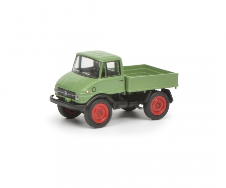 Mercedes-Benz Unimog U406, light green, 1:87