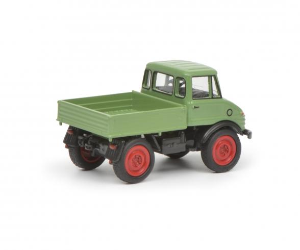 MB Unimog 406, light green 1:87