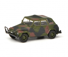 """VW Typ 181 Kübelwagen """"Bundeswehr"""", flecktarn, 1:87"""