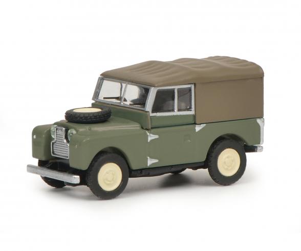 Land-Rover 88, green 1:87