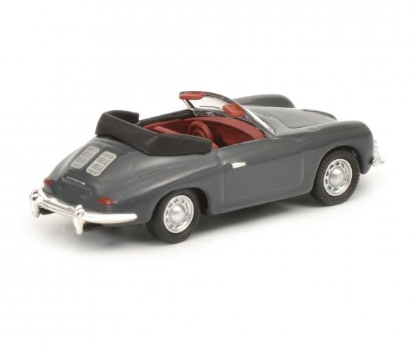 Porsche 356 Cabrio, grey 1:87