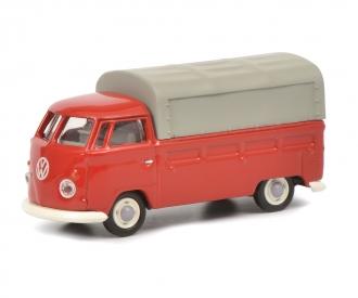 VW T1b Pritsche-Plane, rot, 1:87