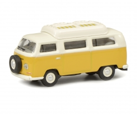 VW T2a camper,yellow/white 1:87