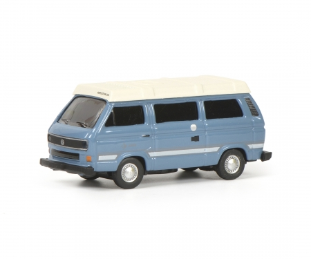 "VW T3b ""Joker"" Camping Bus, blue, 1:87"