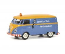 """VW T1c Kastenwagen """"VW Kundendienst"""", blau, 1:87"""