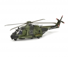 "NH90 Helicopter ""Bundeswehr"", camouflaged, 1:87"