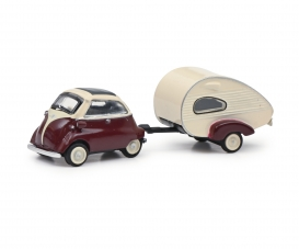 BMW Isetta w. trailer 1:87