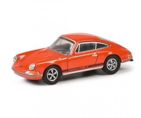 Porsche 911S, blutorange 1:87