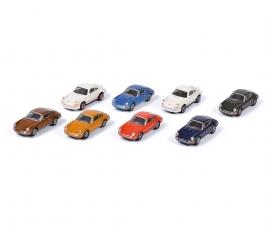 Porsche 911, 8-er Set 1:87