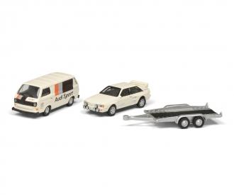 VW T3c AUDI SPORT m.Anh. 1:87