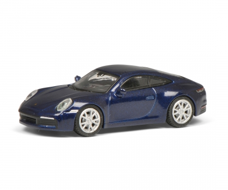 Porsche 911, blau-met. 1:87