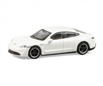 Porsche Taycan, white 1:87