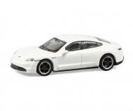 Porsche Taycan, weiß 1:87