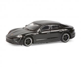 Porsche Taycan, schwarz 1:87