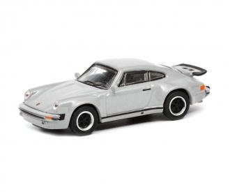 Porsche 911 (930),silver 1:87