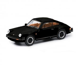 Porsche 911 3.2, black 1:87