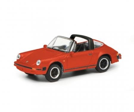 Porsche 911 3.2, red 1:87