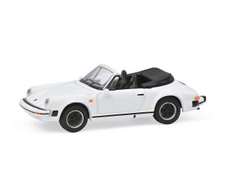 Porsche 911 Carrera 3.2 weiß 1:87