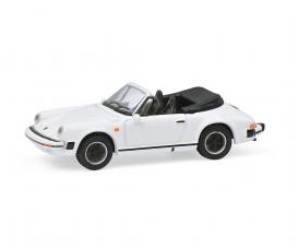 Porsche 911 Carrera 3.2 white 1:87