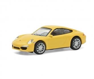Porsche 911 Carrera S yellow 1:87