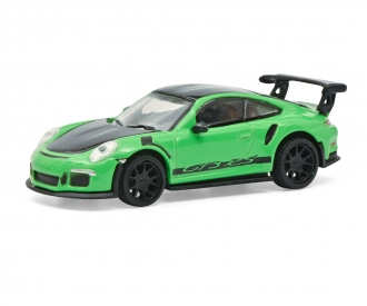 Porsche 911 GT3 RS green 1:87