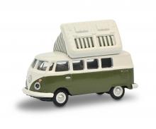 VW T1c Campingbus green/white 1:87
