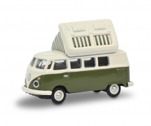 VW T1c Campingbus grün/weiß 1:87