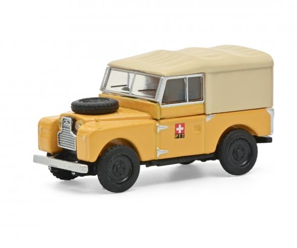Land Rover 88 PTT gelb 1:87