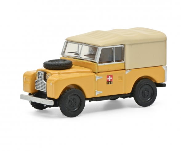 Land Rover 88 PTT yellow 1:87