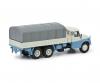 Tatra T148 Flatbed Truck blue/white 1:87
