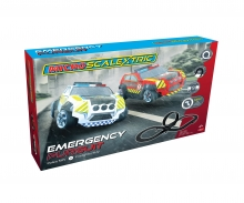 1:64 Emergency Pursuit Micro Scalextric