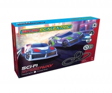 Sci-Fi Speedway Micro Scalextric
