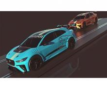 1:32 Jaguar I-Pace Challenge 4,8m Analog