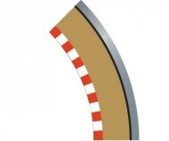 SPORT Randstreifen Kurve R1 aus. 45(4)