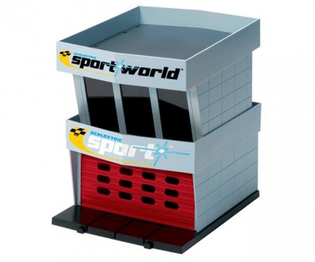 Scalextric Pit Garage (Diorama)